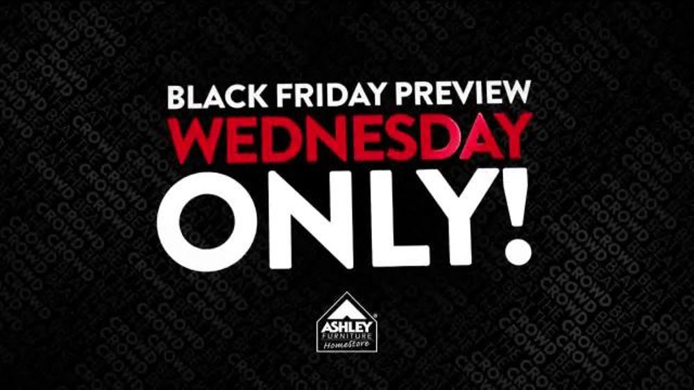 Ashley Furniture Homestore Black Friday Preview Sale TV