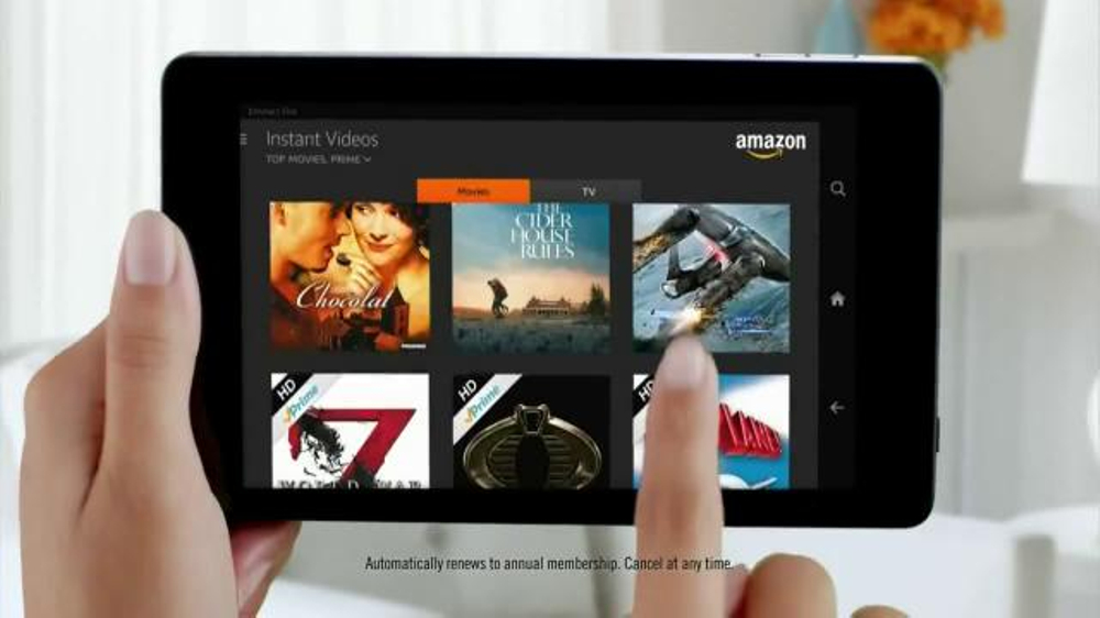 Amazon Fire HD TV Spot, 'All-You-Can-Eat Binge-Watching Buffet'