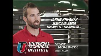Universal Technical Institute TV Spot, 'Think Big'