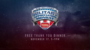 Golden Corral TV Spot, 'National Geographic: Military Appreciation Monday'