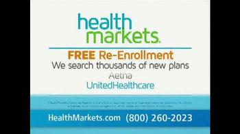 HealthMarkets TV Spot, 'Free Re-Enrollment Service'