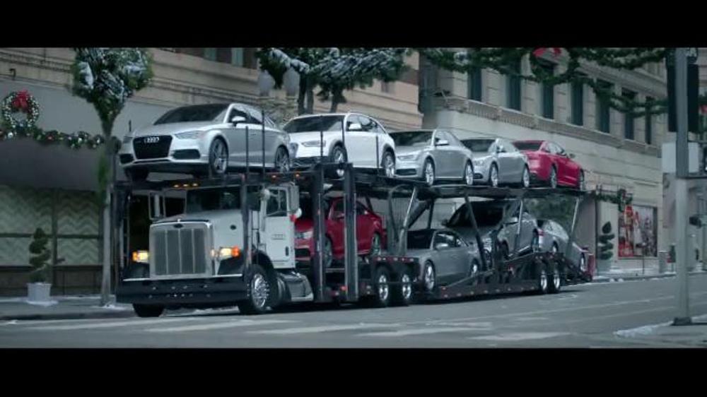 2015 Audi A4 2.0T Premium >> Audi Season of Audi Sales Event TV Spot, 'Santa' - iSpot.tv