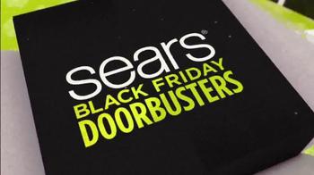 Sears Black Friday Event TV Spot, 'Doorbusters'