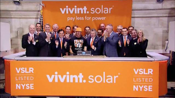 New York Stock Exchange TV Spot, 'Vivint Solar'