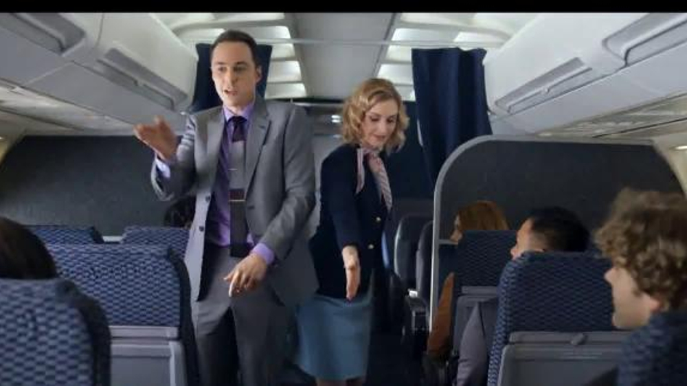 Intel RealSense Technology TV Spot, 'Flight Attendant' Feat. Jim Parsons