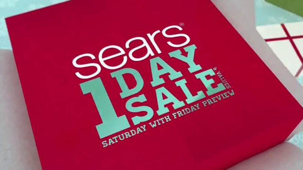 Sears 1 Day Sale TV Spot, 'This Holiday Season'