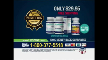 Lipozene TV Spot, 'Lose Weight Over the Holidays'