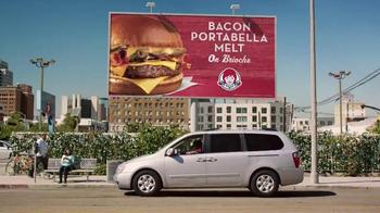 Wendy's Bacon Portabella Melt on Brioche TV Spot, 'Cartel' [Spanish]