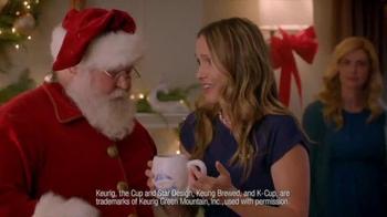 Dunkin' Donuts K-Cup Packs TV Spot, 'Santa Drops By'