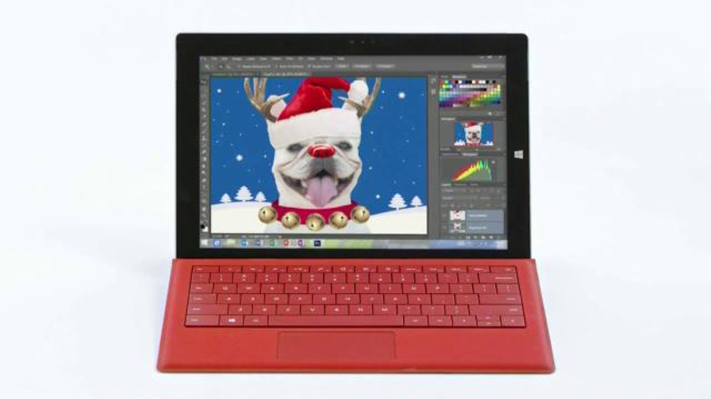 Microsoft Surface Pro 3 TV Spot, 'Winter Wonderland'