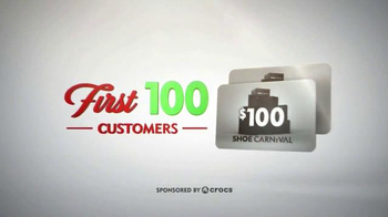 Shoe Carnival TV Spot, 'Giftcards for All'