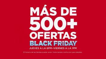 Kohl's Black Friday Ofertas TV Spot, 'Ahorrar en Grande' [Spanish]