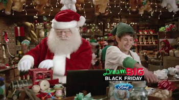 Ford Dream Big Black Friday TV Spot, '$1,000 Amazon Gift Card' thumbnail