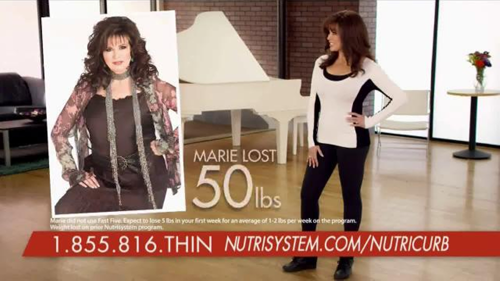 Nutrisystem Fast 5 TV Spot, 'Nationwide Launch' Featuring Marie Osmond thumbnail