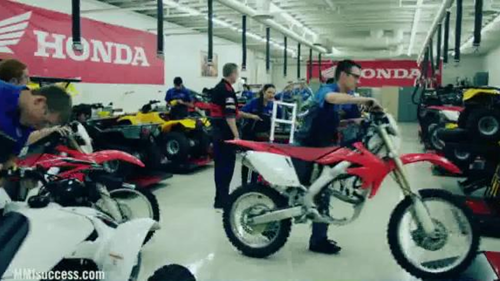 Motorcycle Mechanics Institute Tv Commercial 39 Teams Want You Riders Need You 39