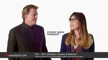 Overstock.com TV Spot, 'Jewelry Vault' Feautring Stormy Simon