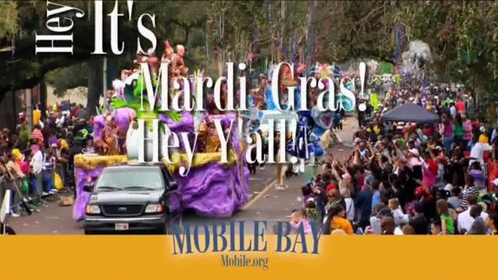 Mobile Bay TV Spot, 'Mardi Gras' - Screenshot 3