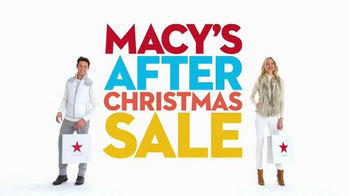 Macy's After Christmas Sale TV Spot, 'Storewide Savings' thumbnail