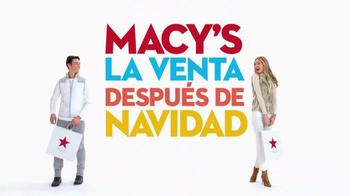Macy's La Venta Después de Navidad TV Spot, 'Incluso Más Ahorros' [Spanish] thumbnail