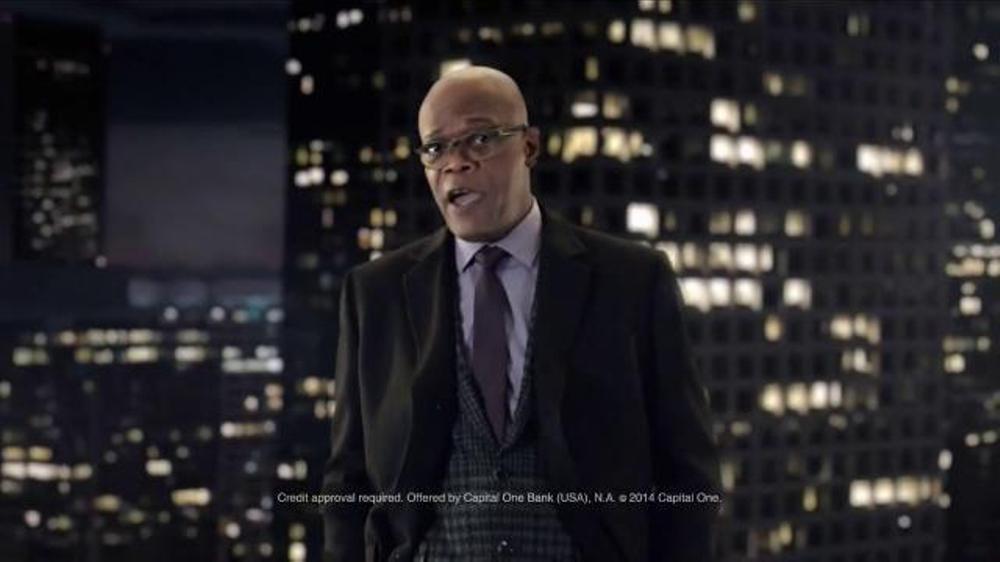 Capital One Quicksilver TV Spot, 'It's a Big World' Feat. Samuel L. Jackson thumbnail
