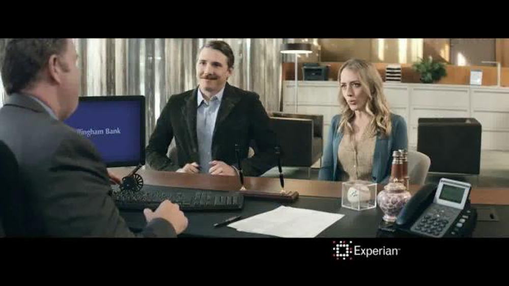 Experian Commercial Blonde Girl