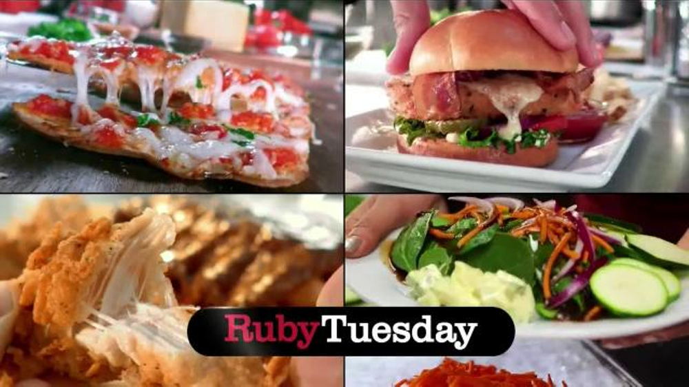 Ruby Tuesday 15 Under 10 Tv Spot Burgers Flatbreads