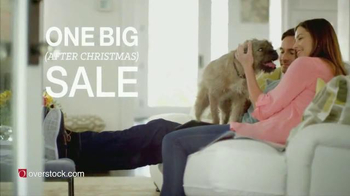 Overstock.com One Big After Christmas Sale TV Spot, 'Holiday Sale'