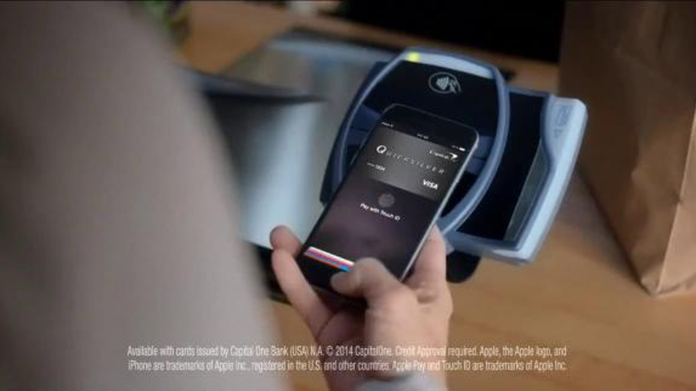 Capital One Wallet and Apple Pay TV Spot, 'Worn Jeans' Song by Ezra Vine thumbnail