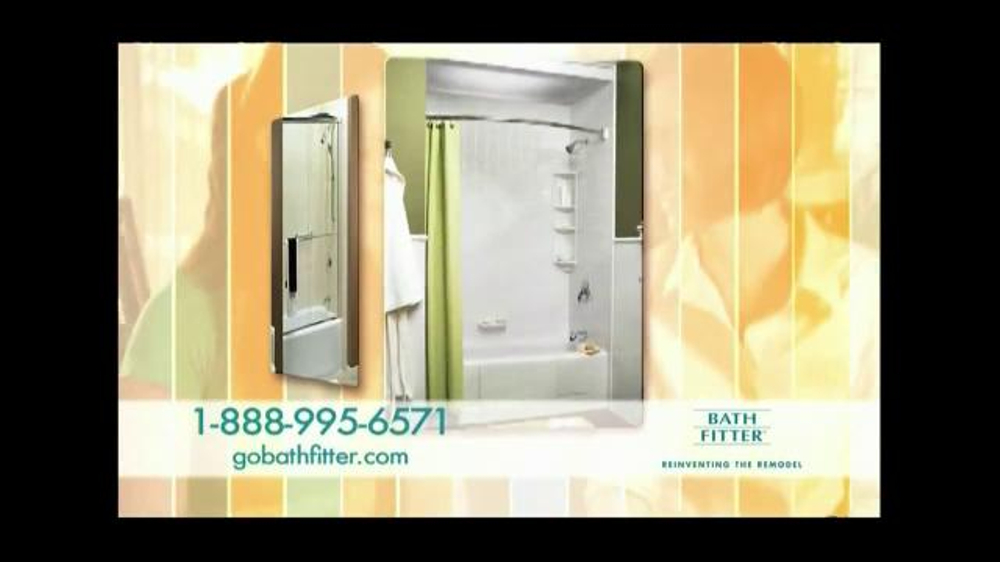 Bath fitter tv commercial 39 one day remodel 39 for Bath remodel in one day