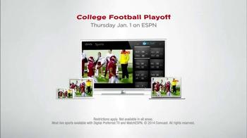 XFINITY X1 Triple Play TV Spot, 'ESPN College Football' thumbnail
