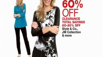 Macy's One Day Sale TV Spot, 'Clothing, Luggage, and Appliance Deals' thumbnail
