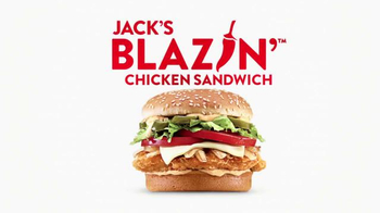 Jack in the Box Jack's Blazin' Chicken Sandwich TV Spot, 'Company Picnic'