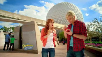 Danimals Power Up Your Adventure Sweeps TV Spot, 'Epcot'