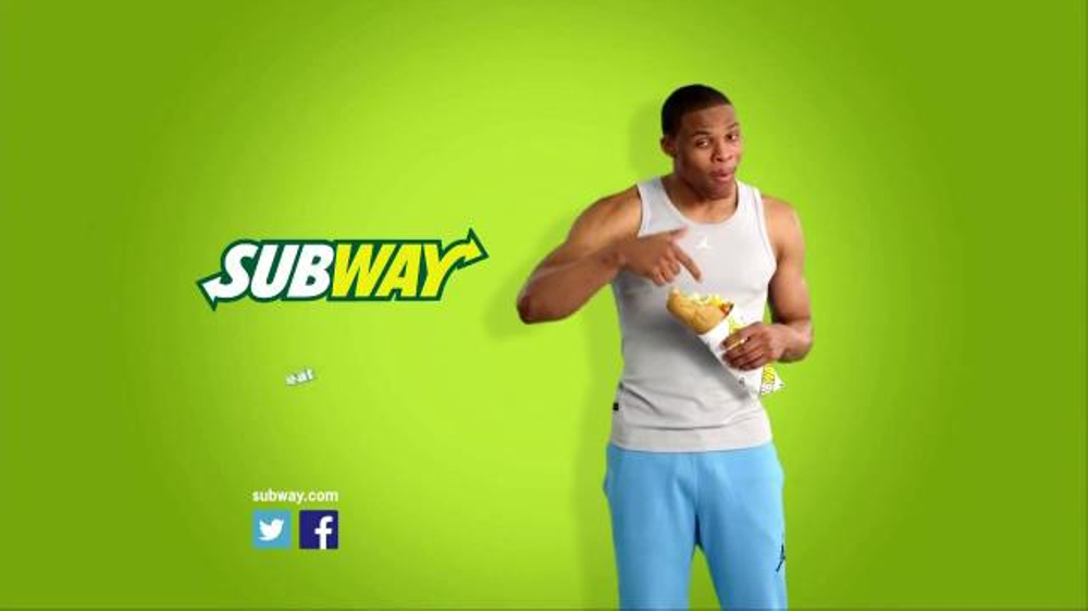Subway Chicken and Bacon Ranch Melt TV Spot Featuring Russell Westbrook - Screenshot 8