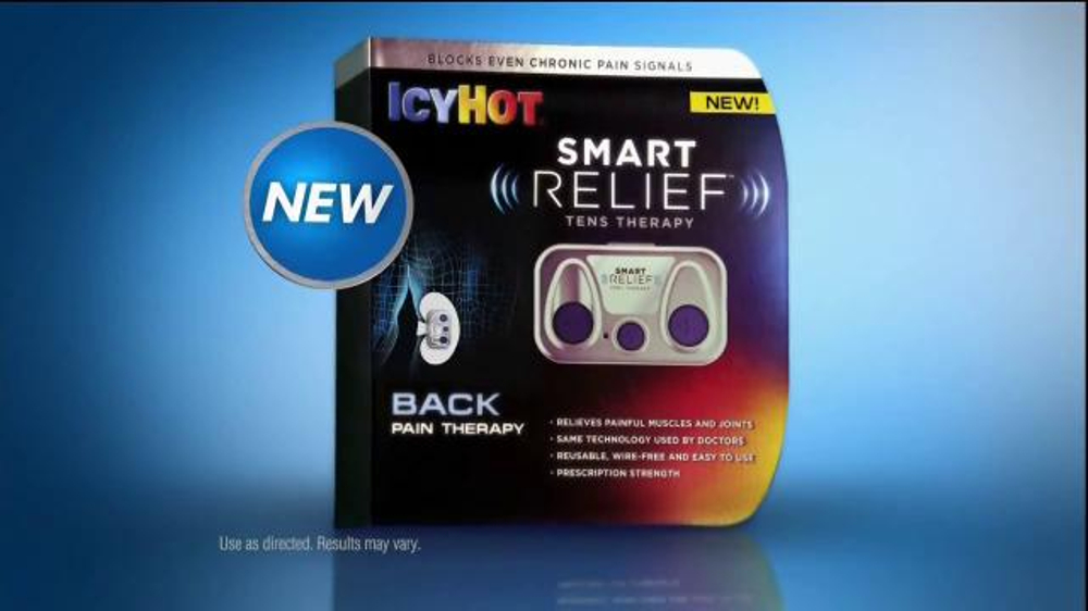 Icy Hot Smart Relief Tv Spot Turn Off Pain Featuring