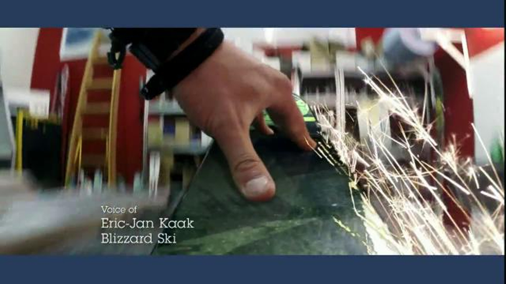 IBM TV Spot, 'Skis Made with Data' Featuring Eric-Jan Kaak - Screenshot 2