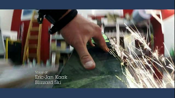 IBM TV Spot, 'Skis Made with Data' Featuring Eric-Jan Kaak - Thumbnail 2