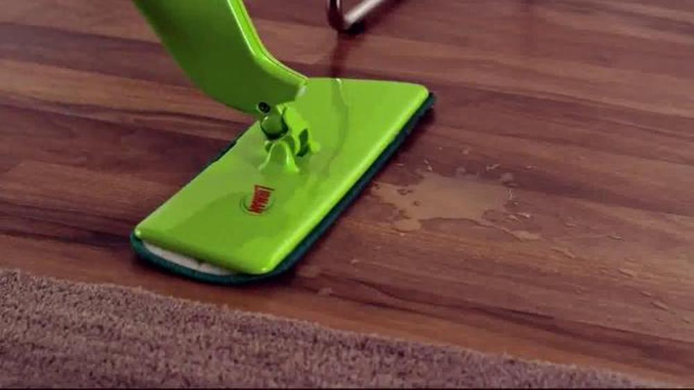 Libman Freedom Spray Mop Amp Floor Cleaner Tv Commercial