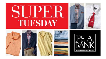 JoS. A. Bank TV Spot, 'April 2014 Super Tuesday 60% Off'