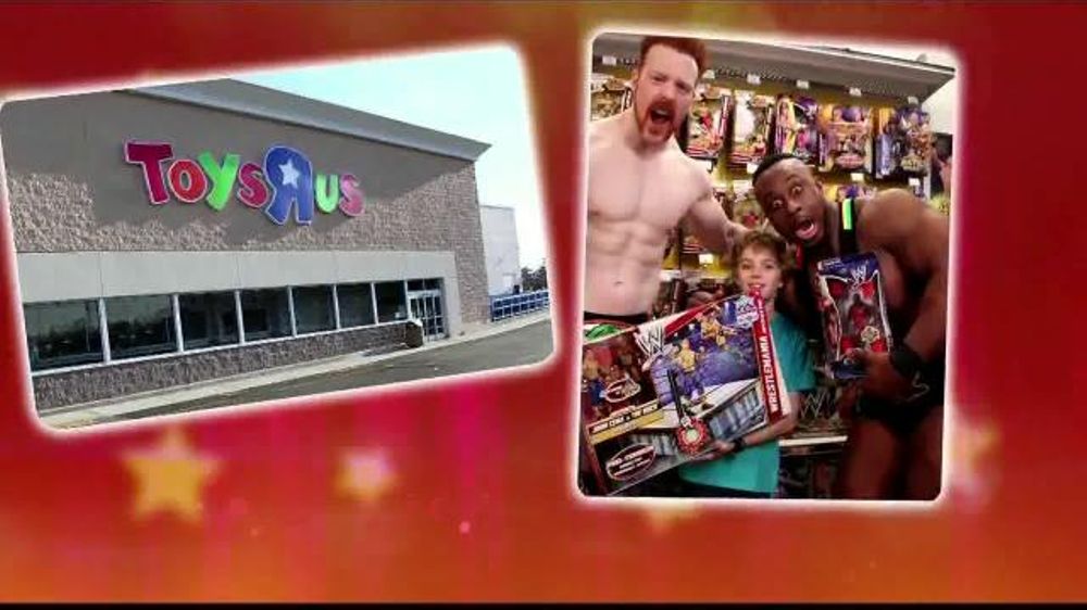 Toys R Us Wwe Rings : Toys r us tv spot wwe ispot