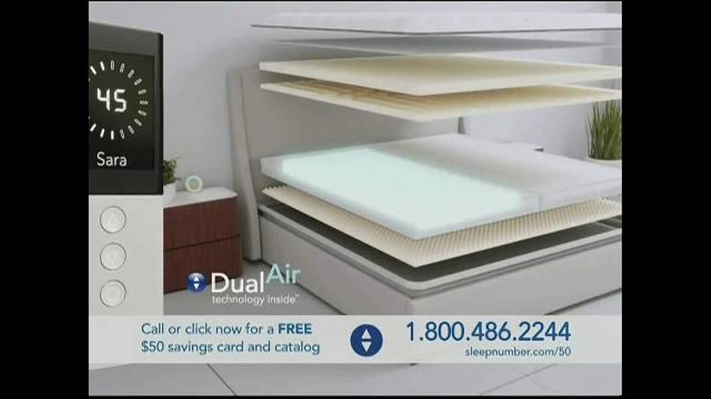 Sleep Number Dual Temp TV Spot, 'Too Hot or Too Cool' - Screenshot 3
