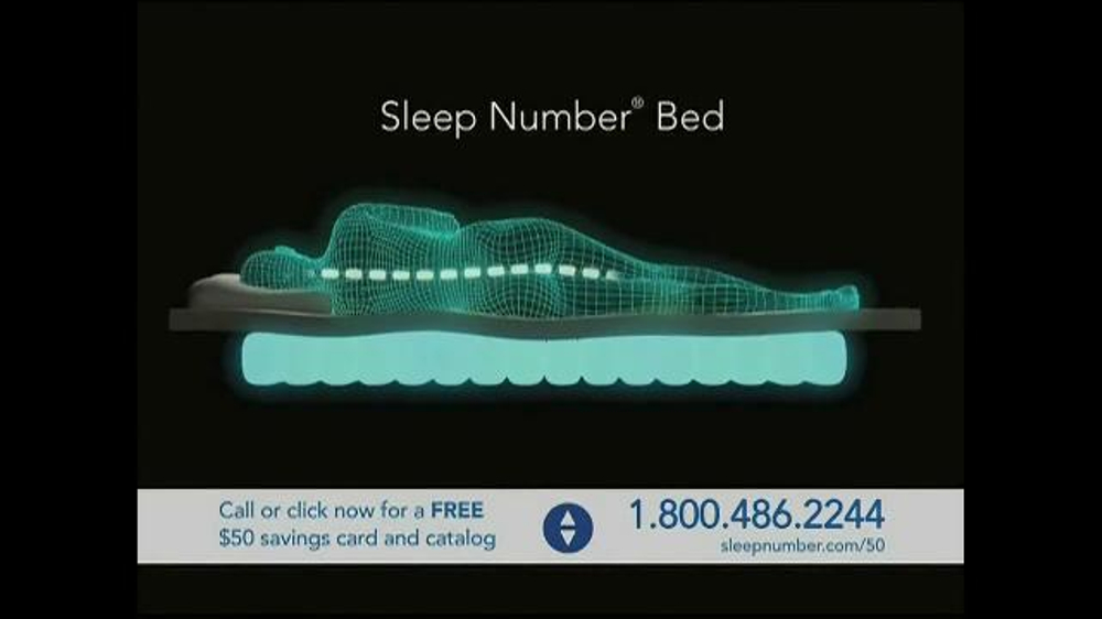 Sleep Number Dual Temp TV Spot, 'Too Hot or Too Cool' - Screenshot 6