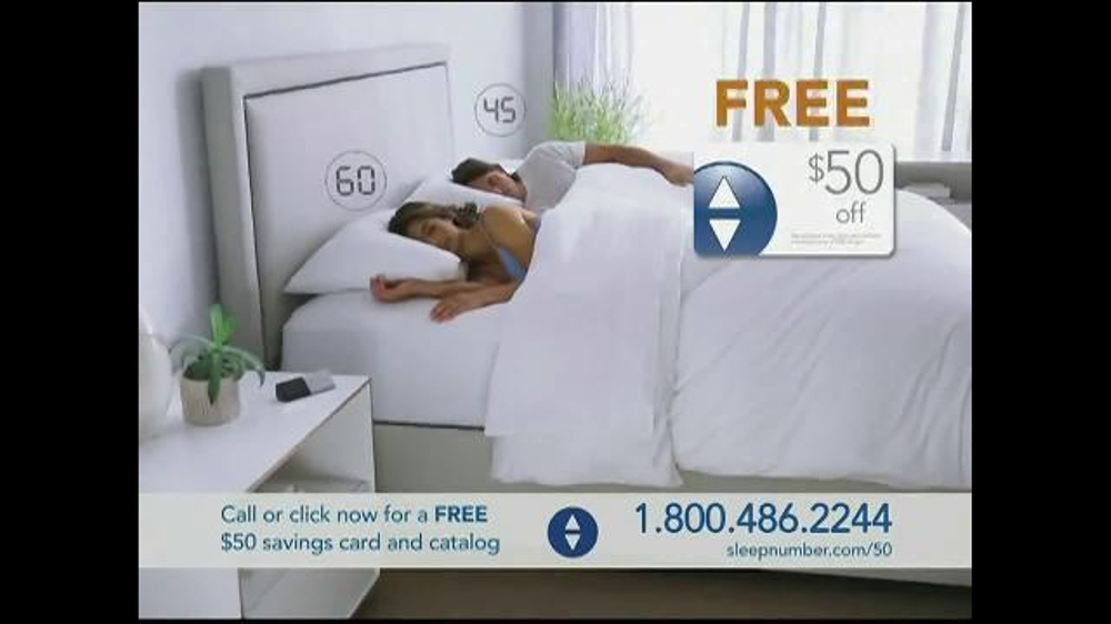 Sleep Number Dual Temp TV Spot, 'Too Hot or Too Cool' - Screenshot 8