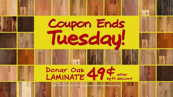 Lumber Liquidators TV Spot, '20 Percent Off'