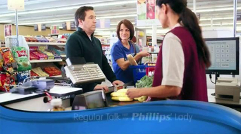Phillips TV Spot, 'Checkout Line' - 2243 commercial airings