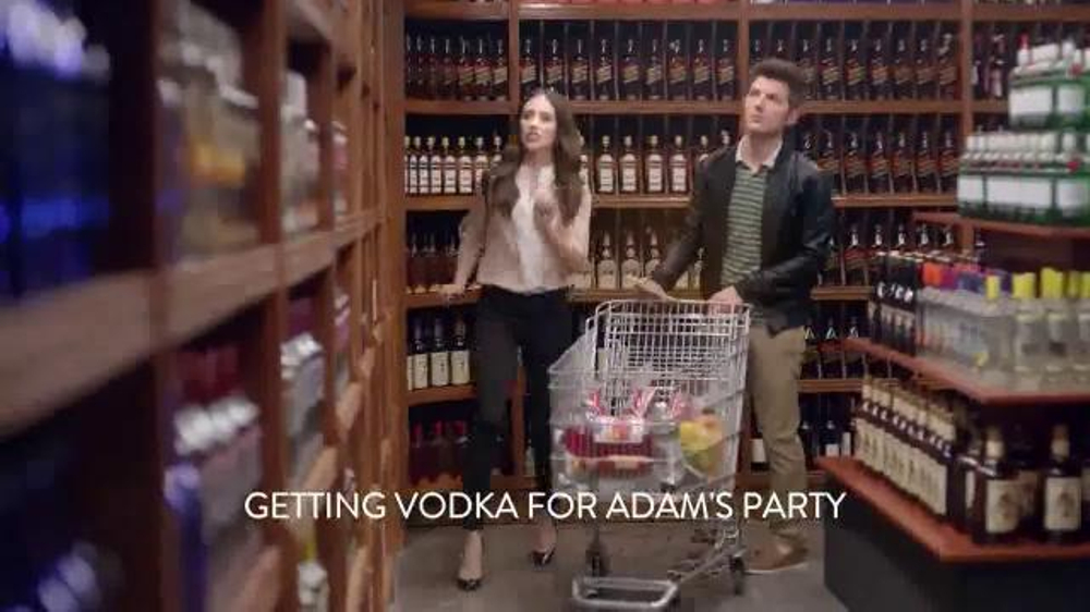 Smirnoff TV Spot 'The Store' Featuring Adam Scott and Alison Brie thumbnail
