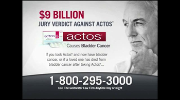 Goldwater Law Firm TV Spot, 'Actos'