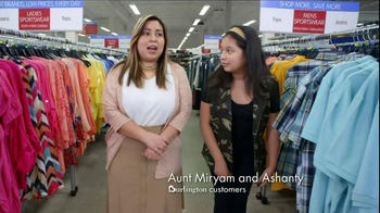 Burlington Coat Factory TV Spot, 'Aunt Miryam and Ashanty'