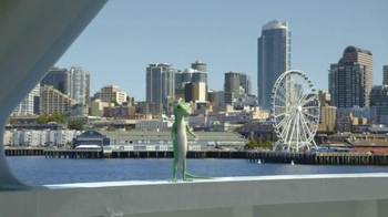 GEICO TV Spot, 'The Gecko's Journey: Seattle'