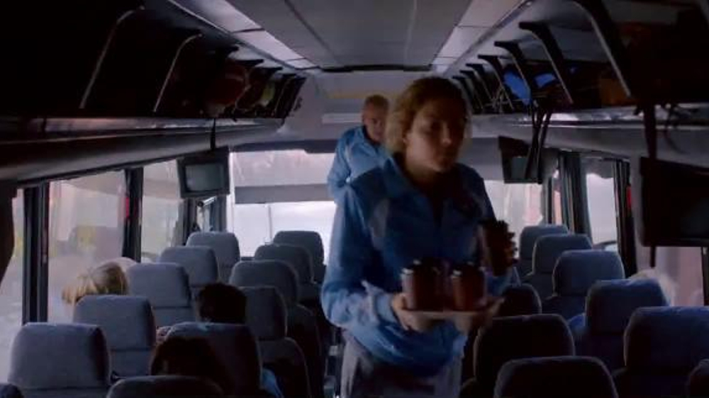 McDonald's Bacon, Egg and Cheese McGriddle TV Spot, 'Tour Bus' - Screenshot 2